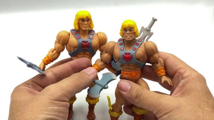 He-Man retro versus 2020