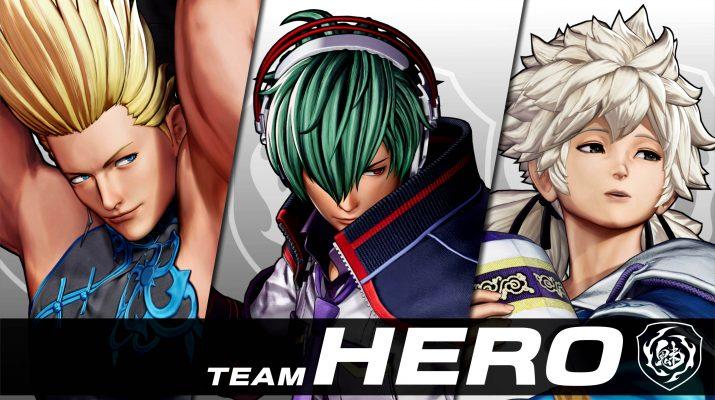 king of fighters xv team hero