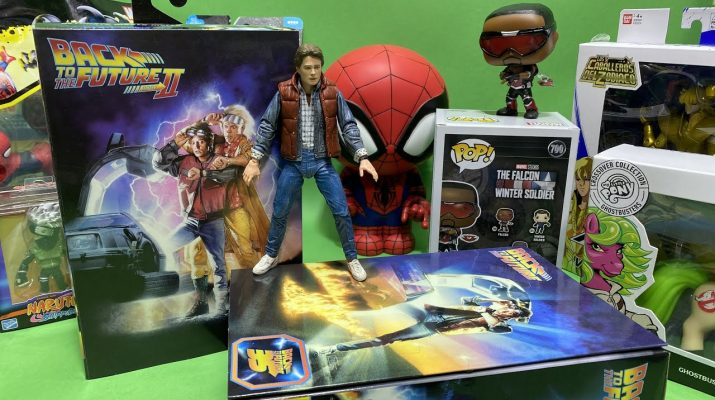 marty mcfly neca unboxing show